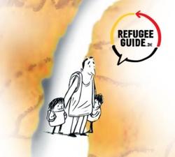 Cover der Broschüre Refugee Guide