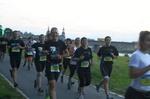 Die Laufgruppe bei einem Wettkampf in Dresden