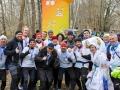 Beim Spreewälder Frostwiesenlauf in Burg am 11. Februar 2018