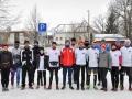 Auch im Winter trifft sich die Laufgruppe